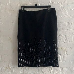 Whits House studded skirt